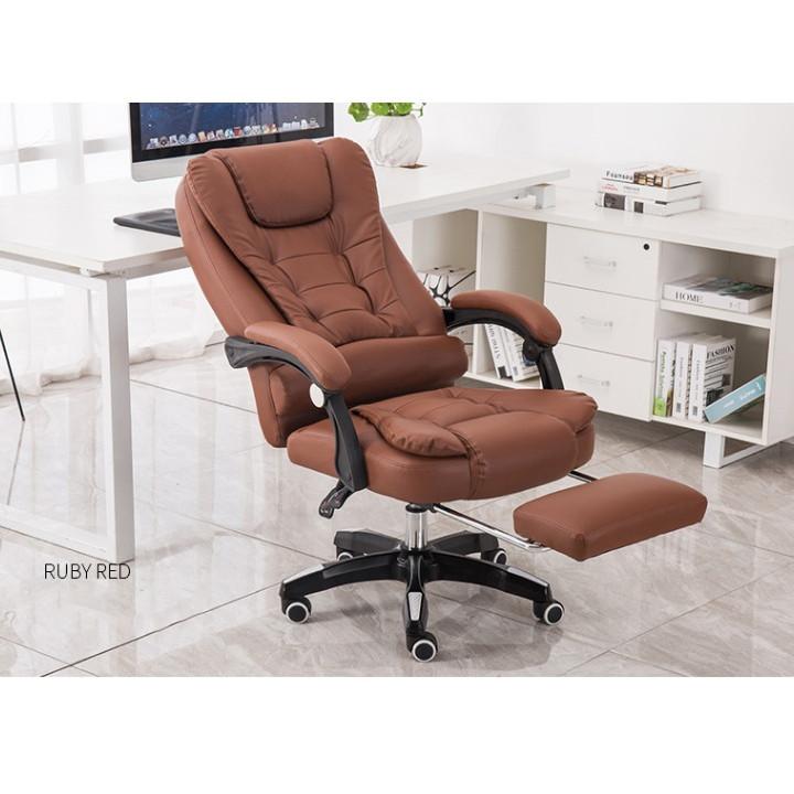 Ghế văn phòng - Ghế giám đốc - Ghế da cao cấp kèm massage - Ghế da - Ghế da - Ghế massage