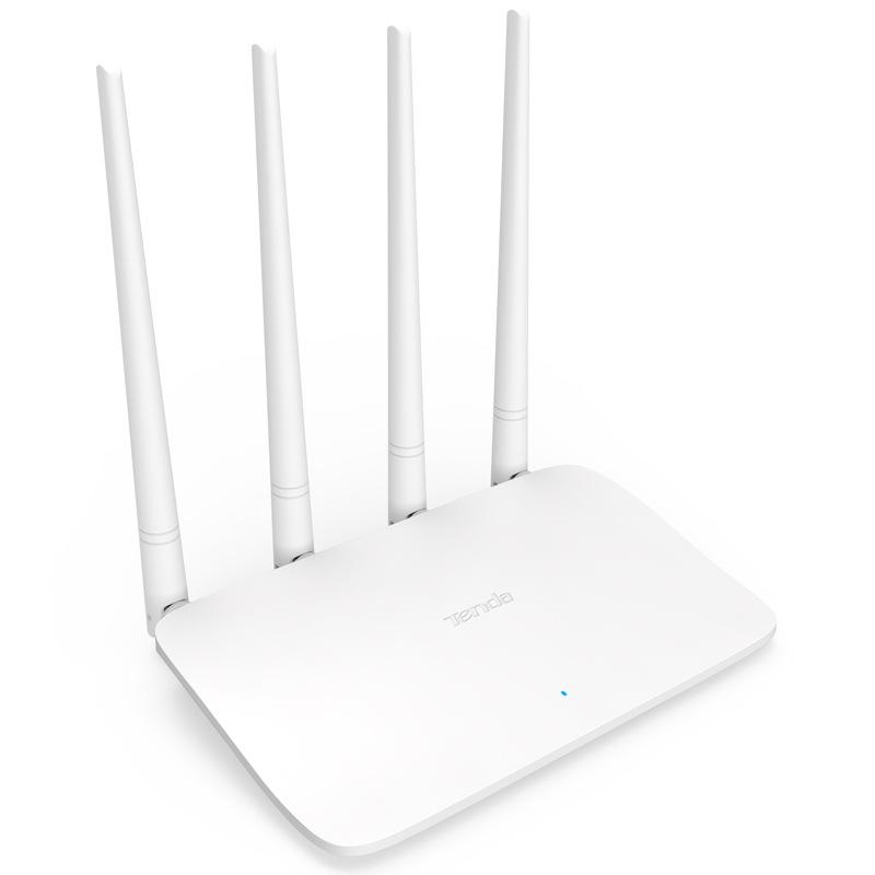 Thiết bị phát sóng WIFI 4 anten tốc độ 300M TENDA F6 v4 - MU MIMO NHẬP KHẨU