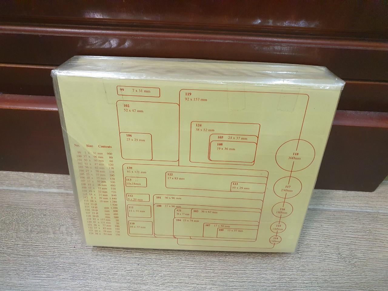 Decal nhãn PC No.110