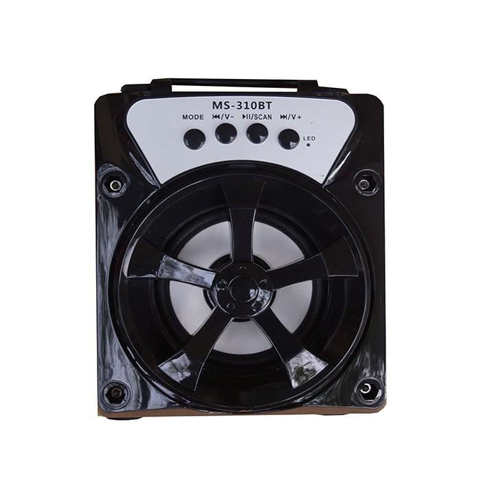 Loa Nghe Nhạc Xách Tay MS-310BT 8W Hỗ Trợ Bluetooth, USB, Thẻ Nhớ, Nghe Đài FM +cốc sạc 3 cổng