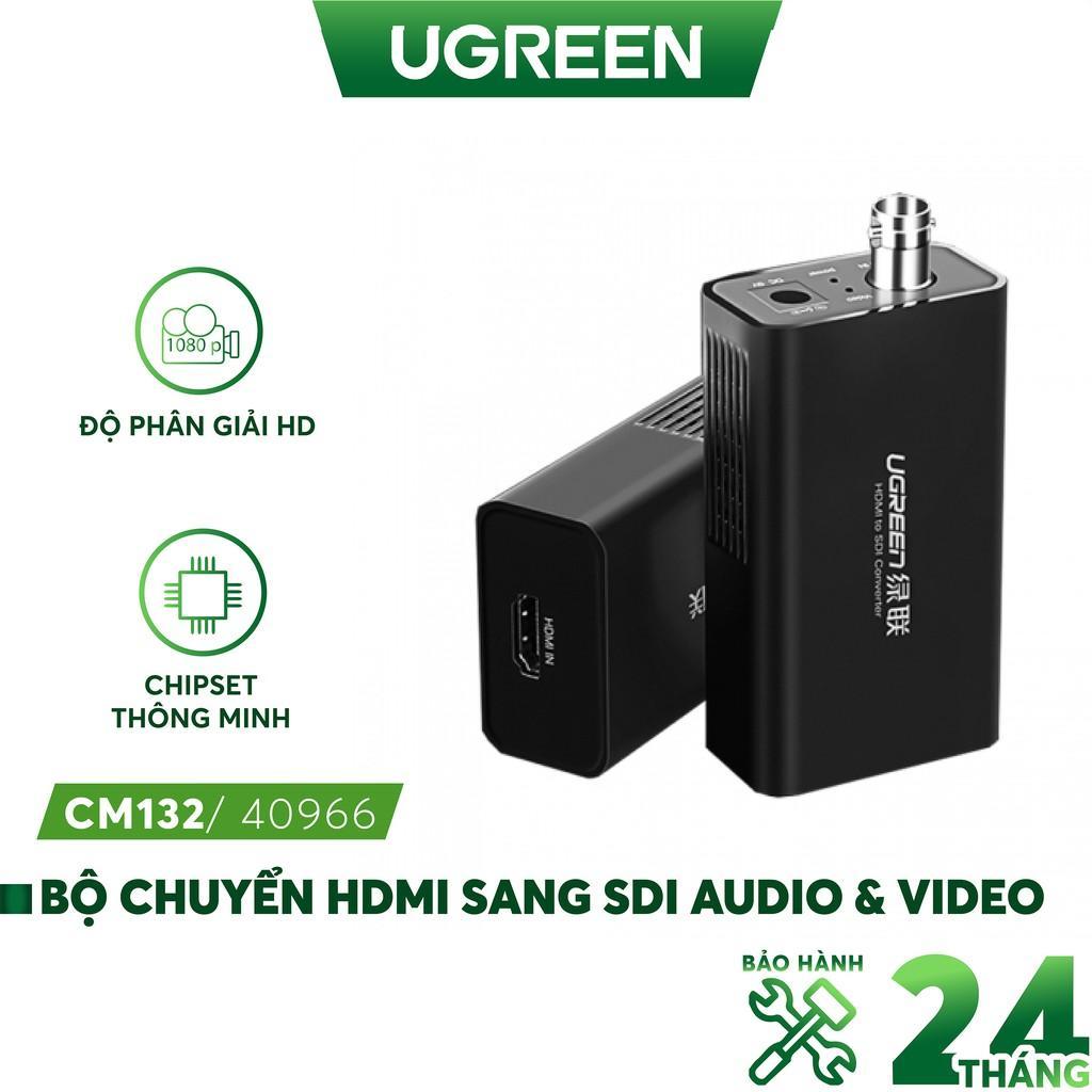 Bộ chuyển đổi HDMI sang SDI audio & video UGREEN CM132 40966- Hàng chính hãng