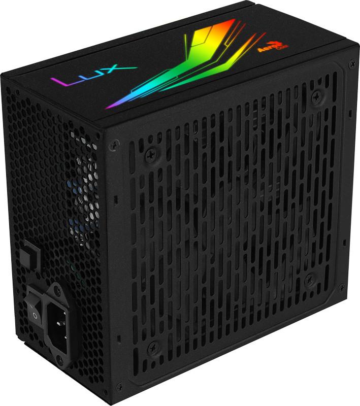 Nguồn máy tính Aerocool LUX RGB 750W 80 Plus Bronze - Hàng Chính Hãng