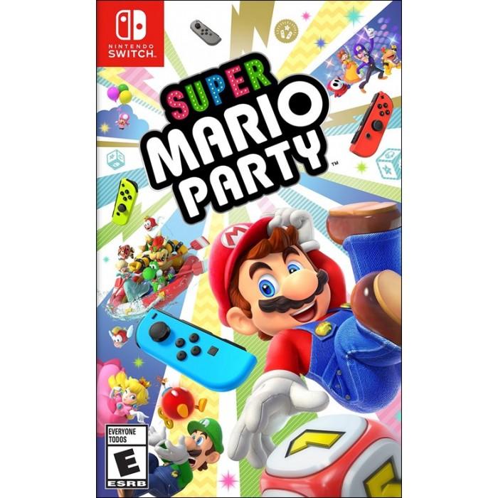 Đĩa Game Nintendo Switch: Super Mario Party - Hàng nhập khẩu