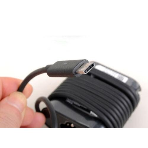 Sạc dành cho Laptop Dell XPS 13 9365 Adapter 19.5V-3.34A Type-C