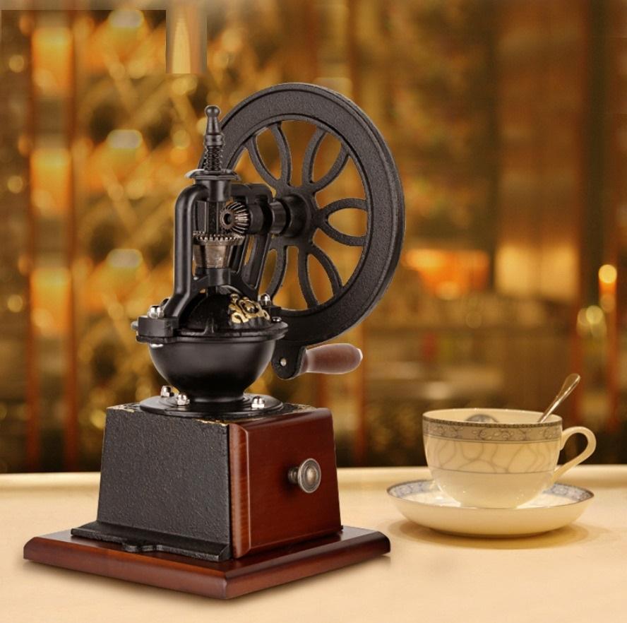 Máy Xay Cà Phê Cổ Điển Vintage dụng cụ xay cà phê esspresso cầm tay
