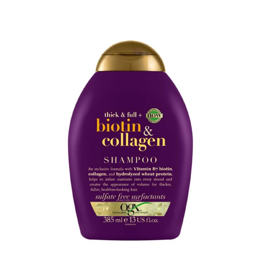 Dầu gội/xả Biotin & Collagen 385ml