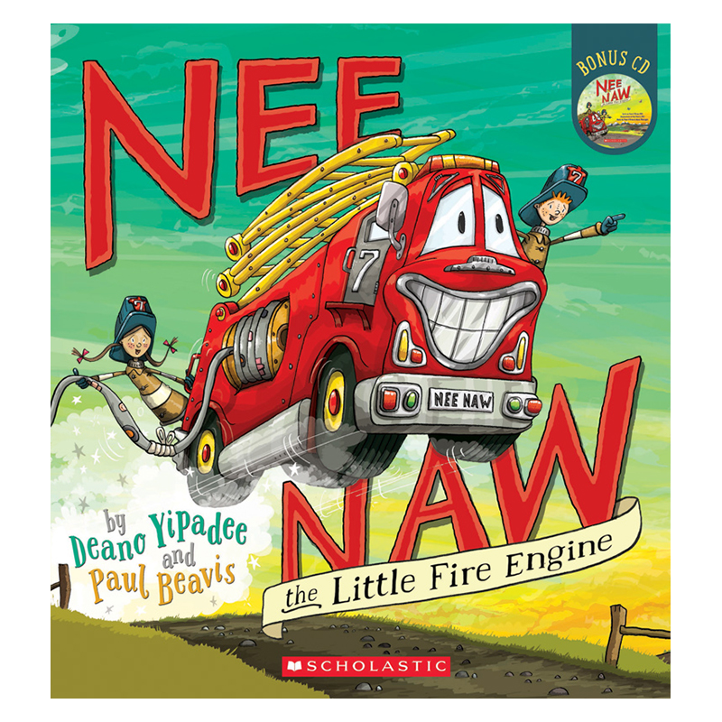 Nee Naw The Little Fire Engine