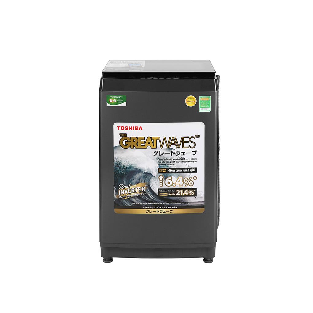 Máy giặt cửa trên Toshiba Inverter 9.0 kg AW-DK1000FV(KK) Model 2020 - Chỉ giao HCM