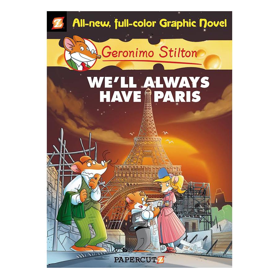 Geronimo Stilton: We'll Always Have Paris