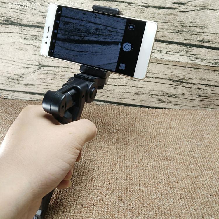 Chân đế mini cho điện thoại, máy ảnh SLR D01 (Đen)
