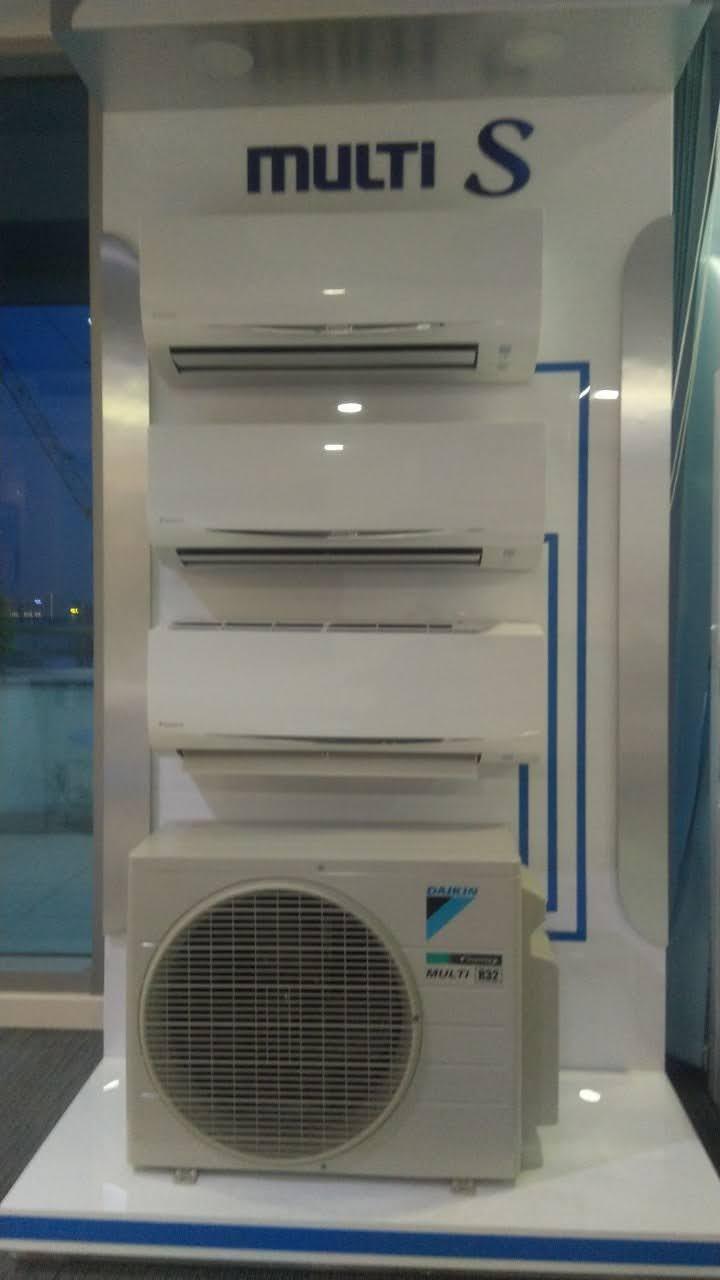 [Free Lắp HCM] Hệ Thống Máy lạnh Multi S Daikin Inverter Combo MKC70SVMV/CTKC35RVMV+CTKC35RVMV+CTKC25RVMV Treo Tường 1 Chiều Lạnh Hàng Chính Hãng