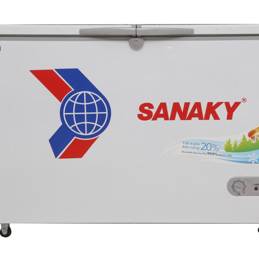 Tủ Đông Dàn Đồng Sanaky VH-5699W1 ( 2 Chế Độ Đông, Mát) (560L) - Hàng Chính Hãng
