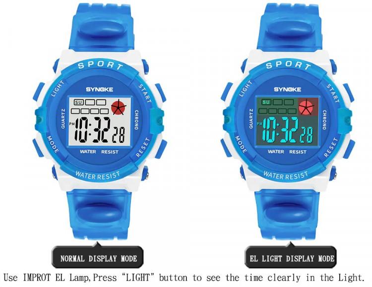 Đồng hồ trẻ em SYNOKE 99268 7
