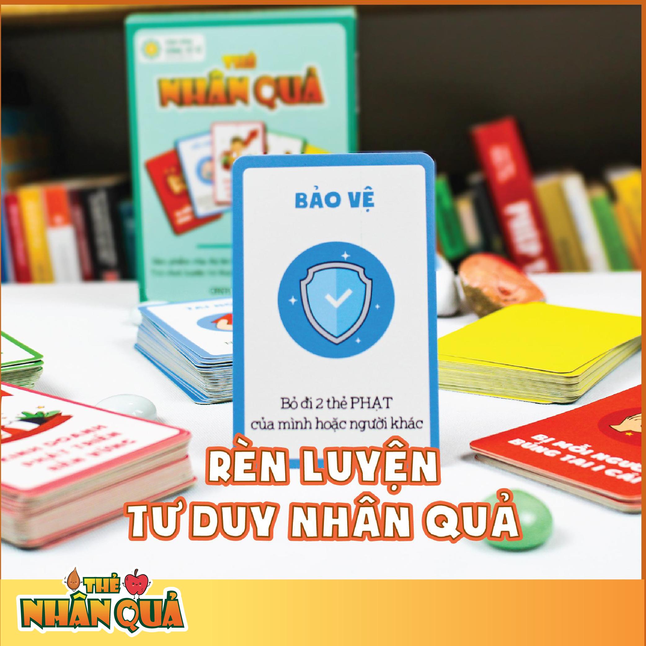 Bộ Thẻ Nhân Quả   Game Tư Duy Nhân Quả Số 1 Tại Việt Nam