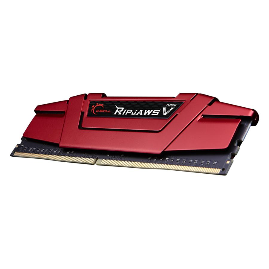 Bộ 2 Thanh RAM PC G.Skill 32GB (16GBx2) Ripjaws Tản Nhiệt DDR4 F4-3000C16D-32GVRB - Hàng Chính Hãng
