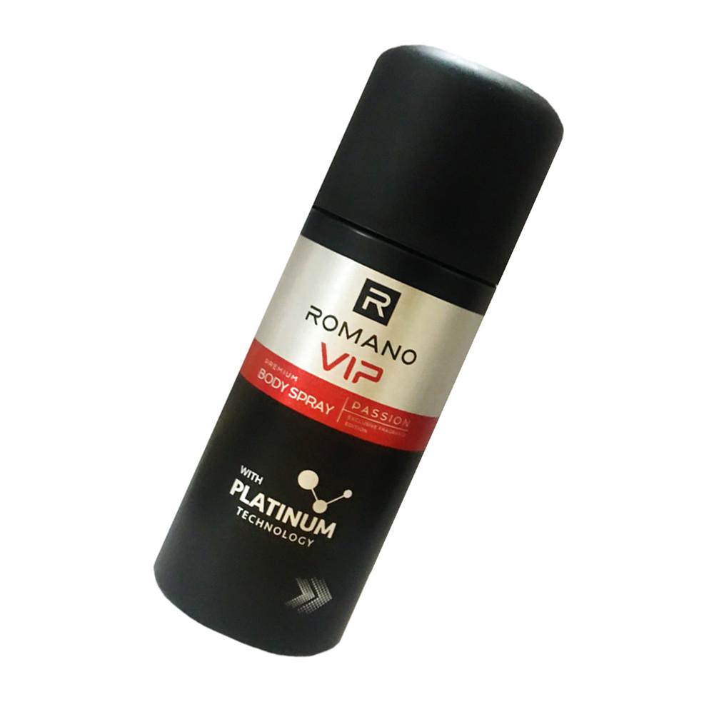 Xịt Ngăn Mùi Nước Hoa Cao Cấp Romano Vip Passion 150ml/chai