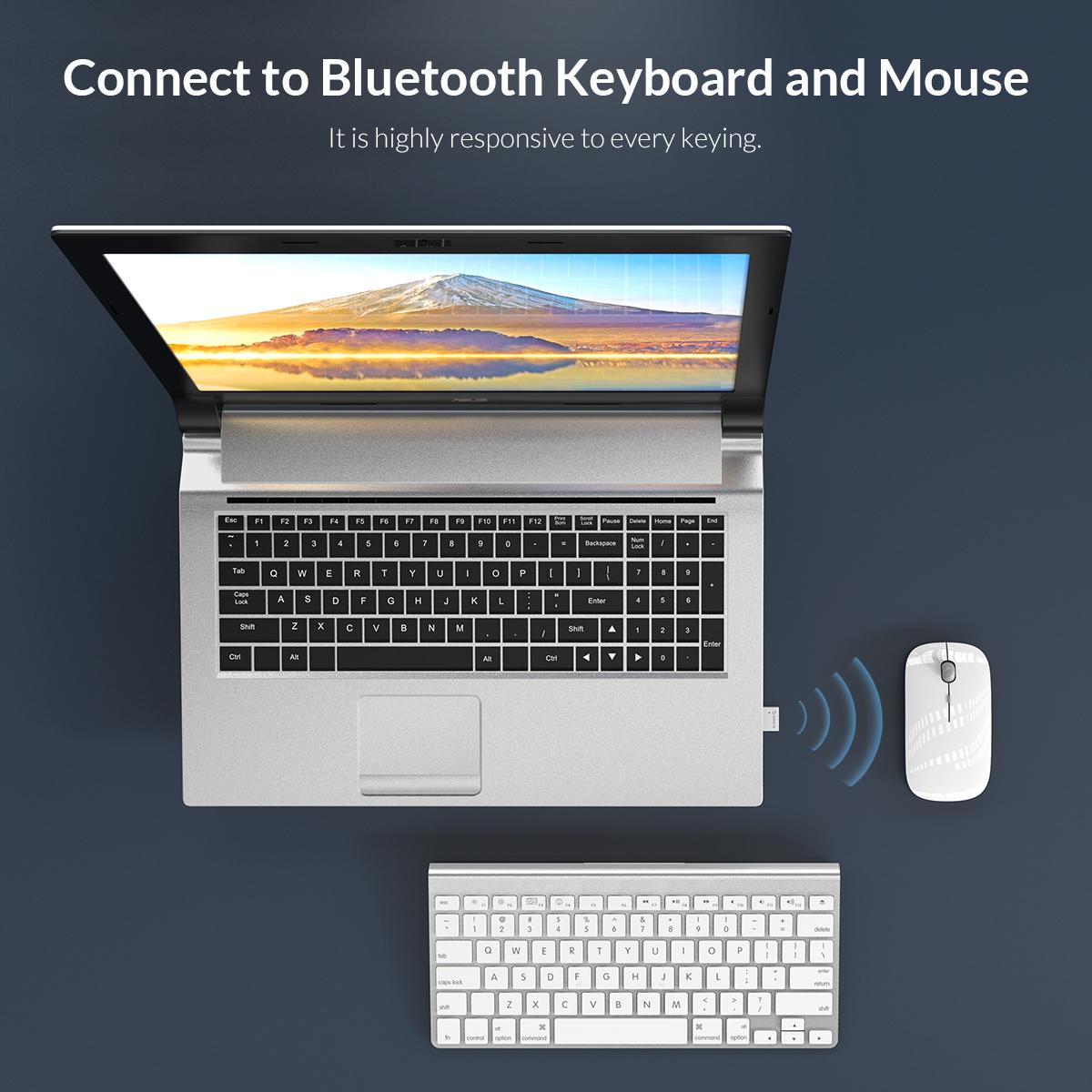 USB Bluetooth 5.0 tốc độ 5Mbps Orico BTA-508 – Hàng Phân Phối Chính Hãng