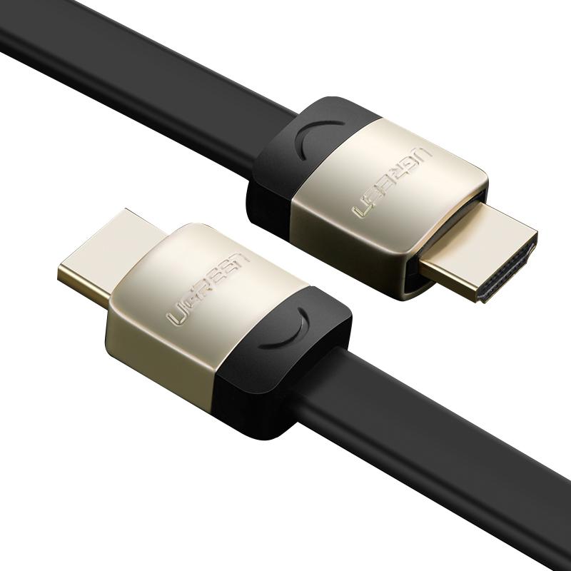 Cáp HDMI dẹt hỗ trợ 3D, 4K Dài 1M UGREEN HD123 10259 - Hàng Chính Hãng