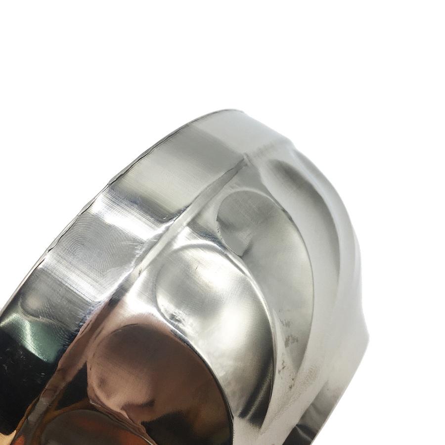Bộ 5 bát tô xoắn inox 2 lớp cách nhiệt loại 14cm