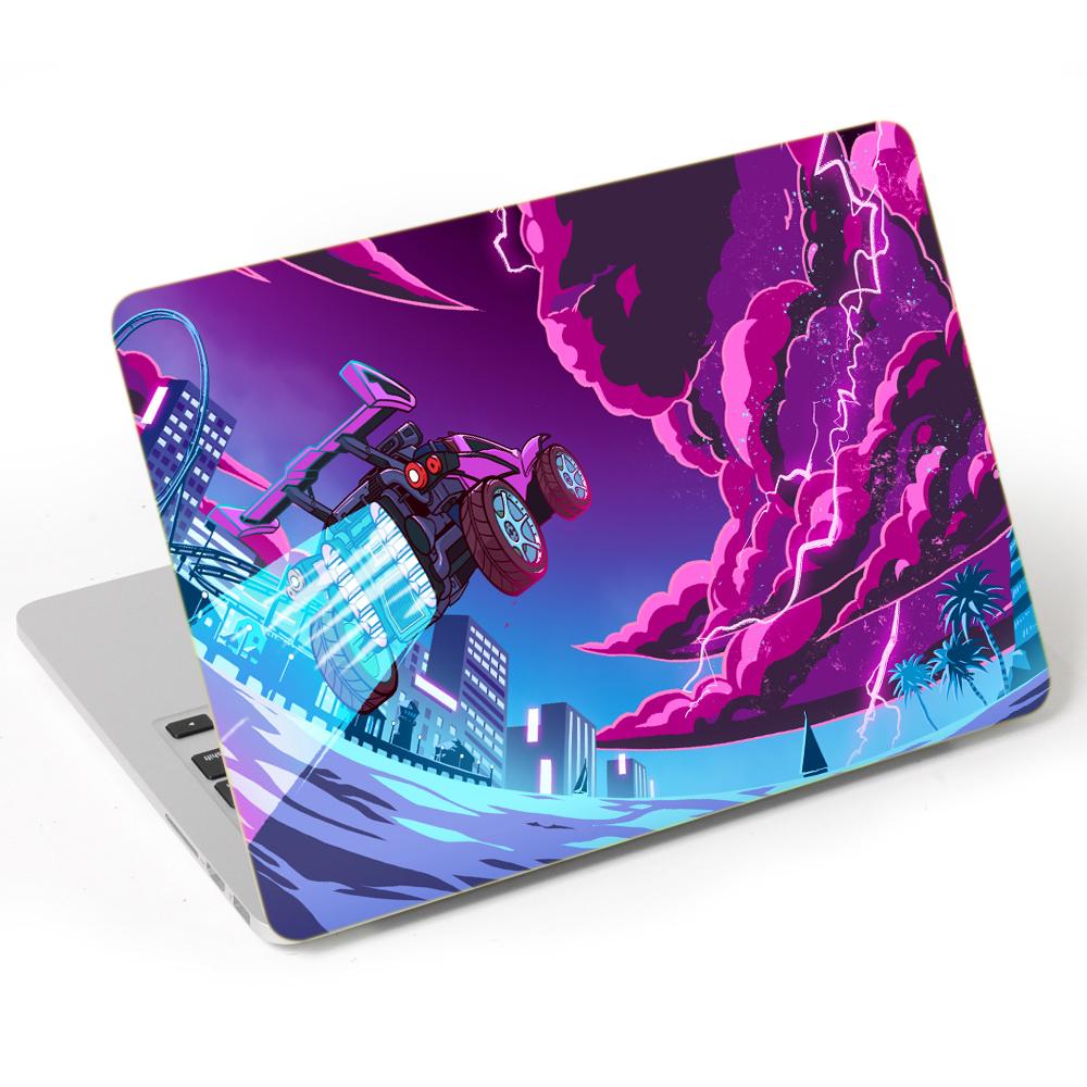 MIếng Dán Trang Trí Mặt Ngoài + Lót Tay Laptop Hoạt Hình LTHH -  666