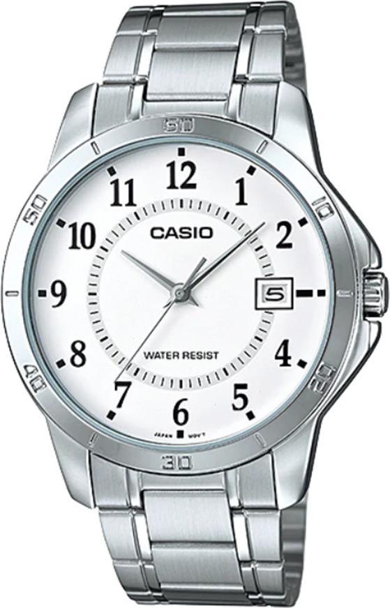 Đồng hồ nam dây kim loại Casio MTP-V004D-7BUDF