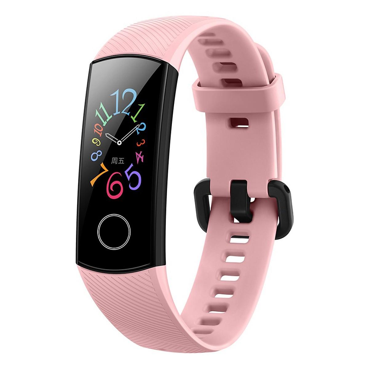 Vòng đeo tay Huawei Honor Band 5 - Hồng - Chính Hãng