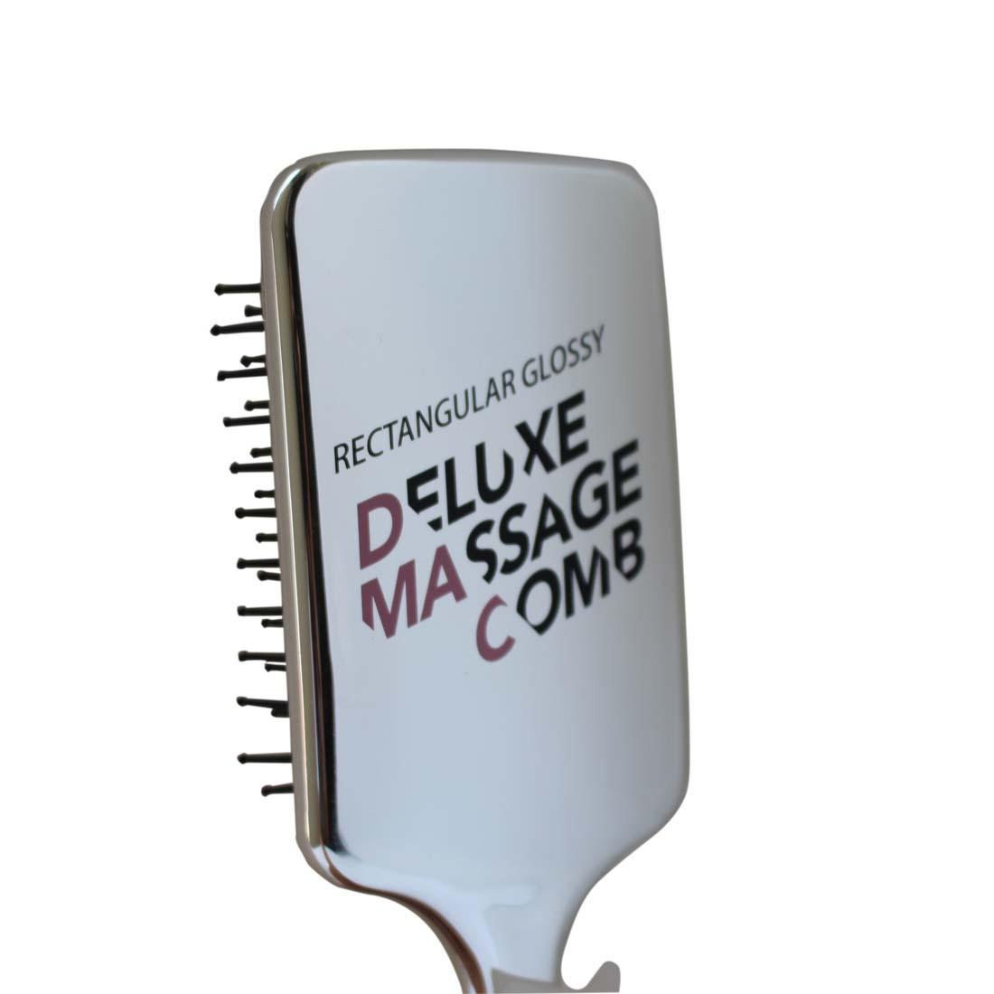 Lược massage hình chữ nhật  MINISO RETANGULAR GLOSSY DELUXE MASSAGE COMB  - MNS029