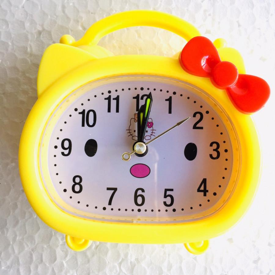 Đồng hồ báo thức để bàn YX-8875 (vàng)- màu ngẫu nhiên