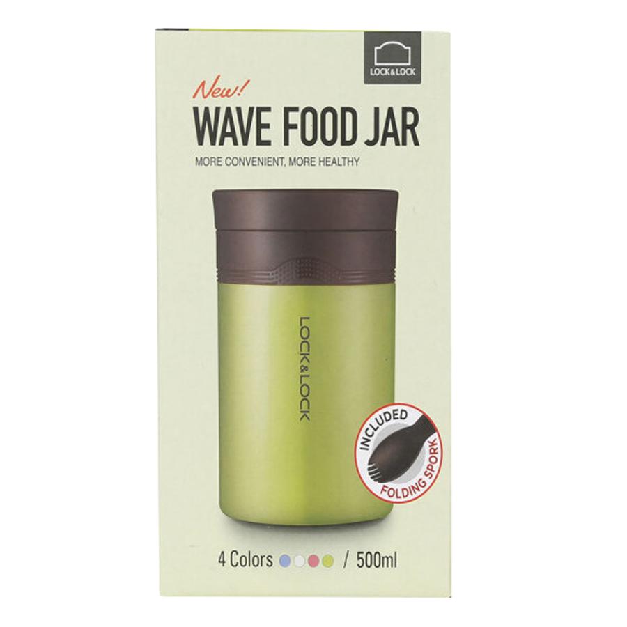 Hộp Giữ Nhiệt Đựng Thức Ăn Lock&Lock New Wave Food Jar LHC8024 (500ml)