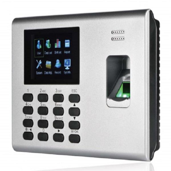 Máy chấm công vân tay và thẻ cảm ứng RONALD JACK 8000C - Hàng nhập khẩu