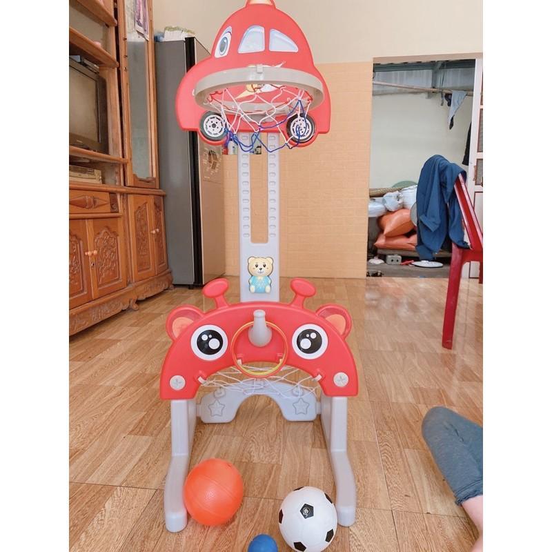 Bộ đồ chơi bóng rổ 5 trong 1 cho bé từ 1 - 3 tuổi