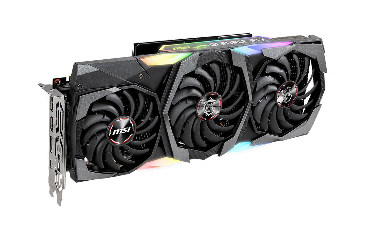 Card màn hình MSI GeForce RTX 2080 Ti GAMING X TRIO 11GB GDDR6-Hàng chính hãng
