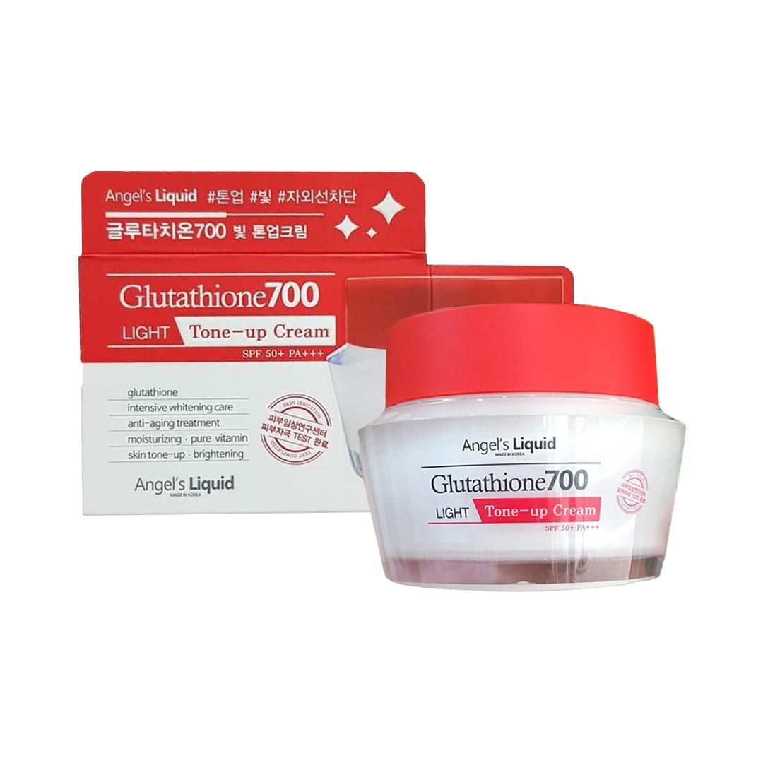 Kem dưỡng trắng sáng da, bật tone tức thì Angel's Liquid Glutathione700 (SPF50+ PA+++) 50ml