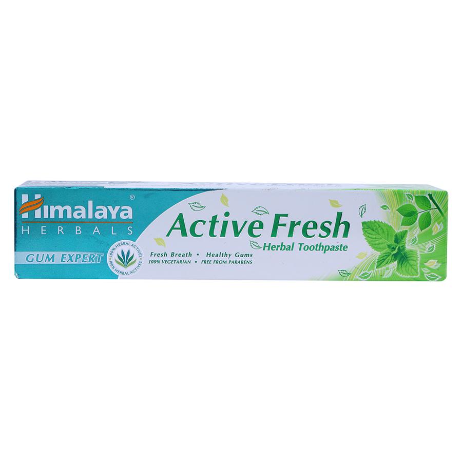 Kem Đánh Răng Thảo Mộc Tươi Mát Active Fresh Himalaya Herbals HMTP0003 (100g)