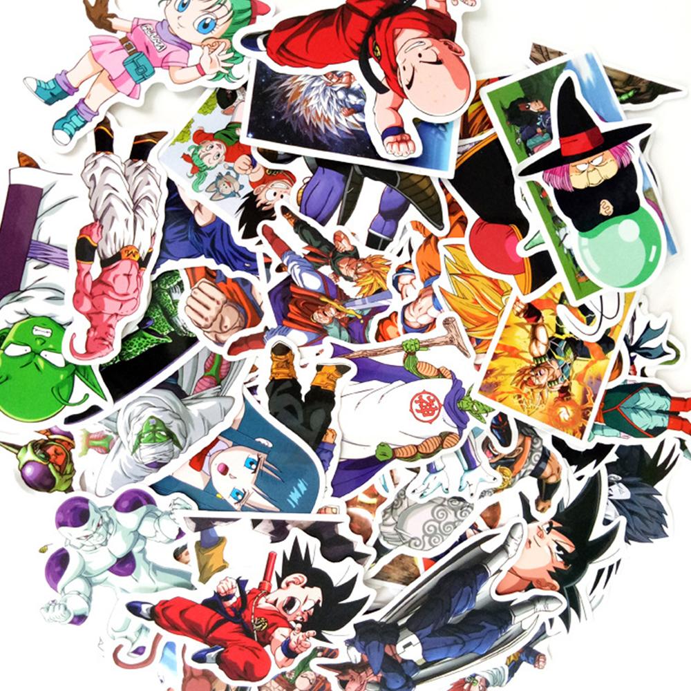 Bộ 50 Sticker 7 Viên Ngọc Rồng - Chống Thấm Nước