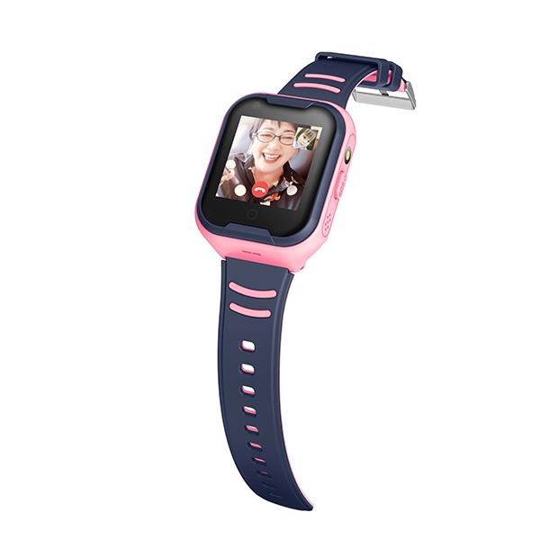 Đồng hồ định vị trẻ em nghe gọi video Wonlex KT11 (Hồng) - Hàng chính hãng