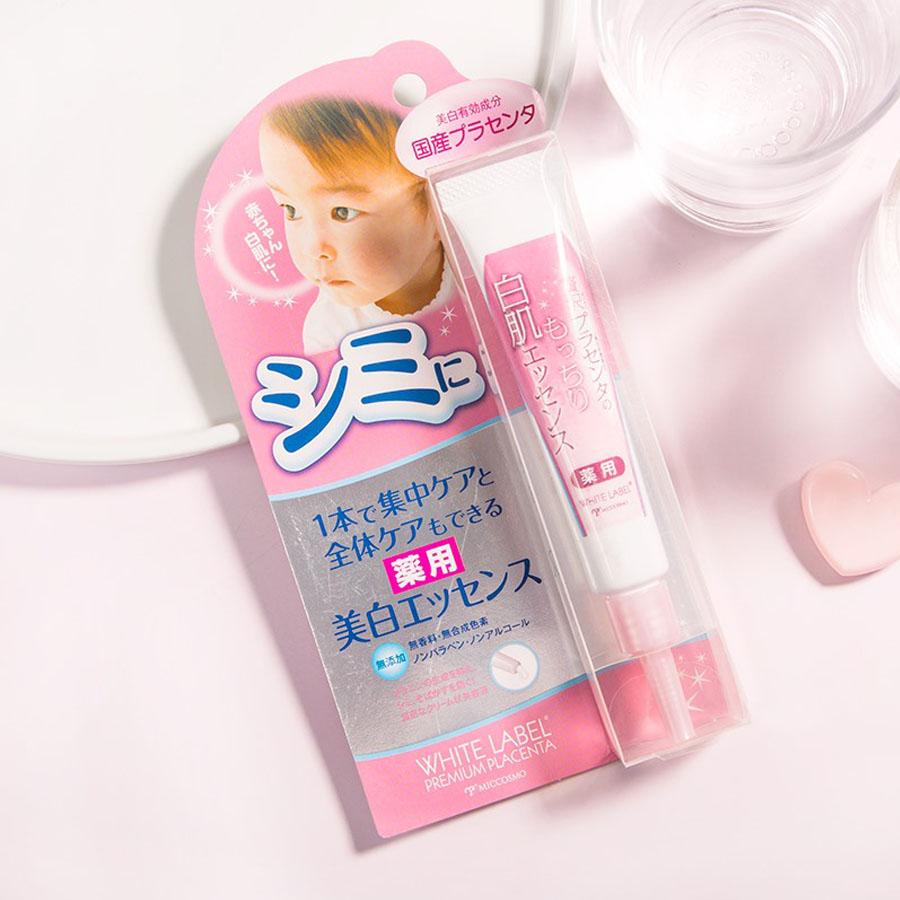 Combo 3 Sản Phẩm Ngăn Ngừa Và Chữa Nám, Tàn Nhang, Đều Màu Da, Se Khít Lỗ Chân Lông Chiết Xuất Tinh Chất Nhai Thau White Label Từ Nhật Bản