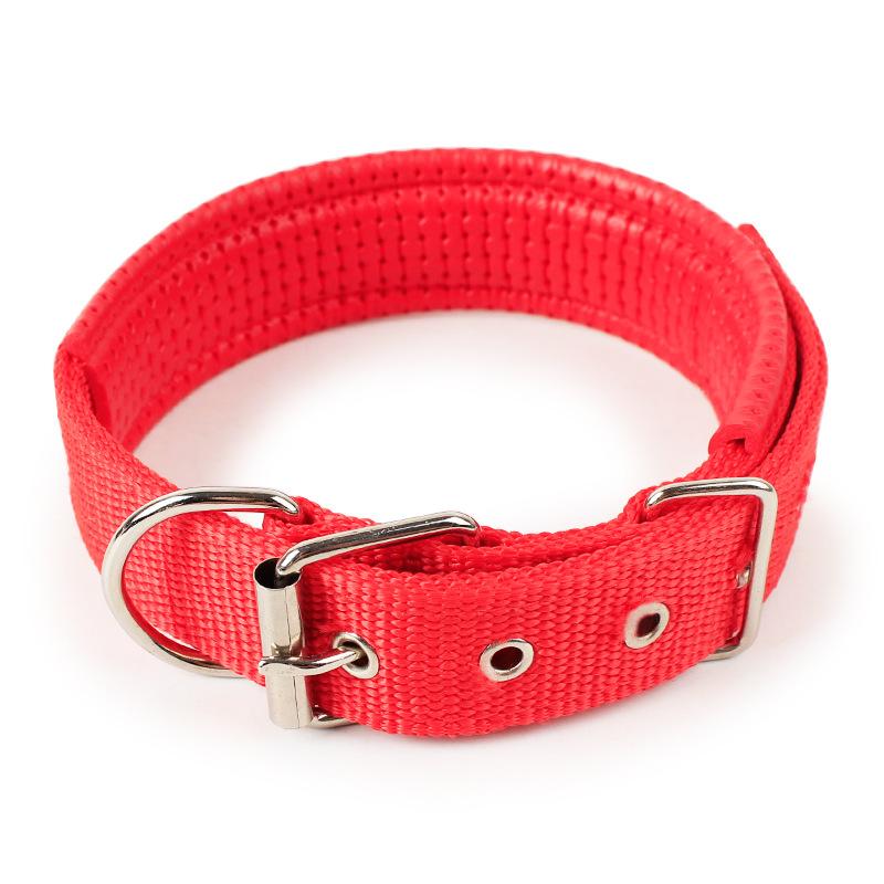 Vòng cổ đệm cho chó (Chọn 4 màu) - Vòng cổ chó mèo 5 size thích hợp mọi loại chó