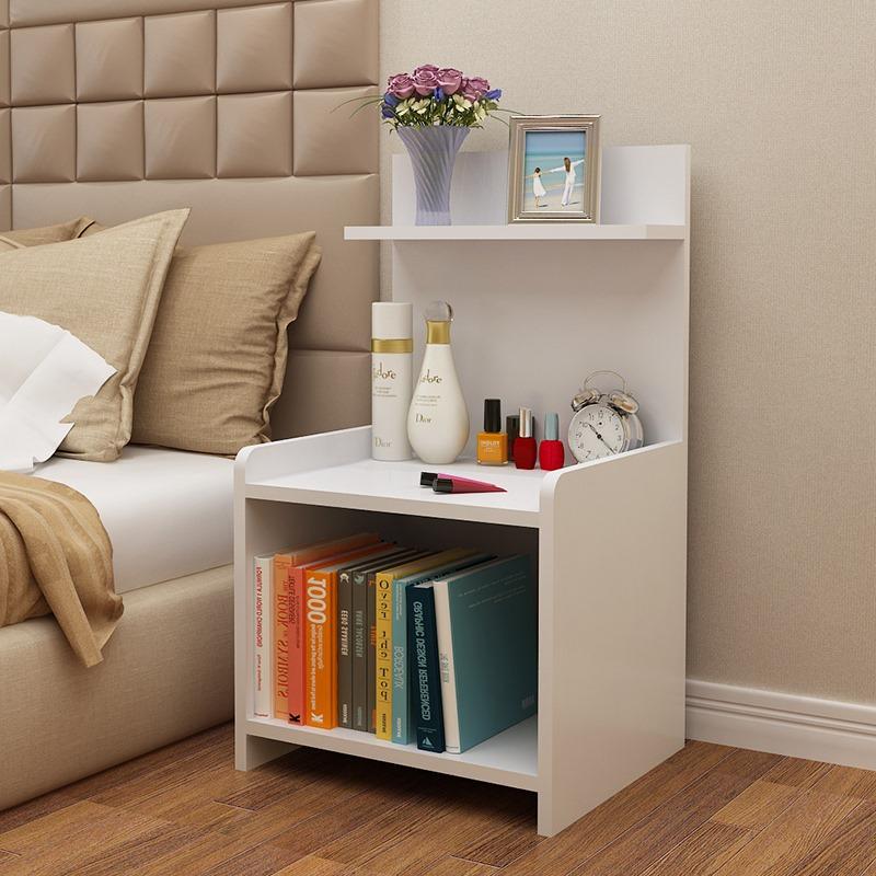 Kệ đầu giường chia ngăn bằng gỗ tiện lợi - KS04/HOMEDECOR