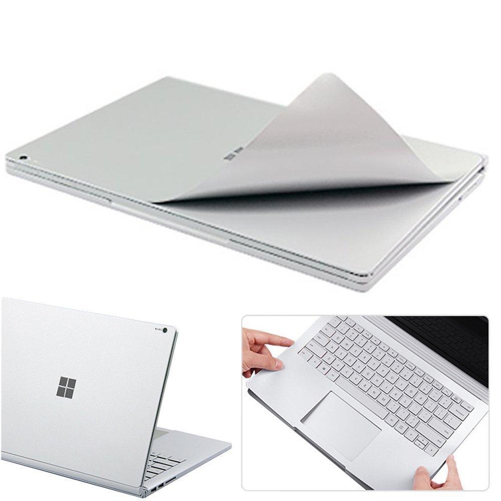 Miếng dán toàn thân JRC màu Bạc bảo vệ cho Surface Book 3 (13.5'' + 15'') - Hàng nhập khẩu