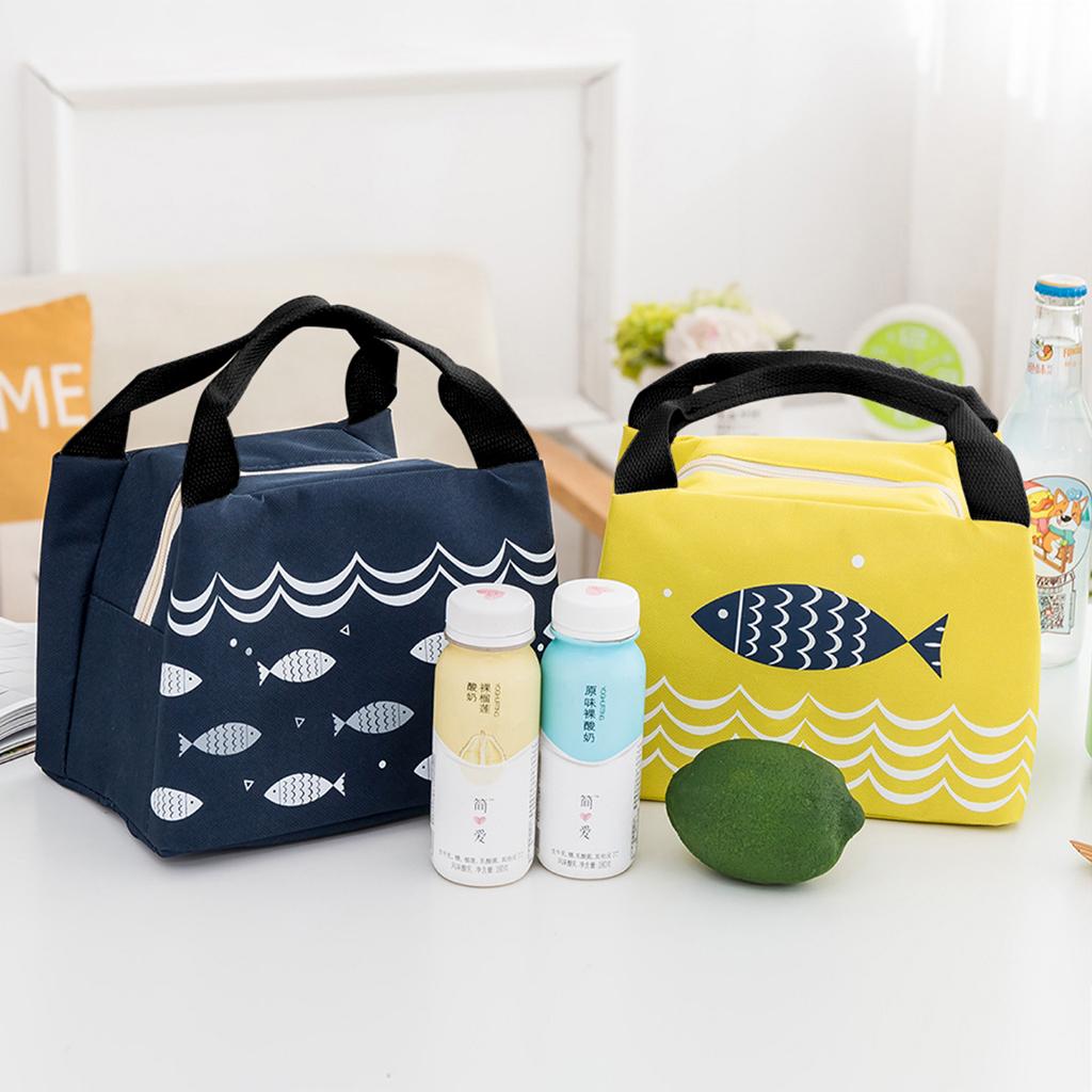 Túi đựng hộp cơm trưa giữ nhiệt đa năng, phù hợp cho cả nam và nữ, có nhiều kiểu dáng