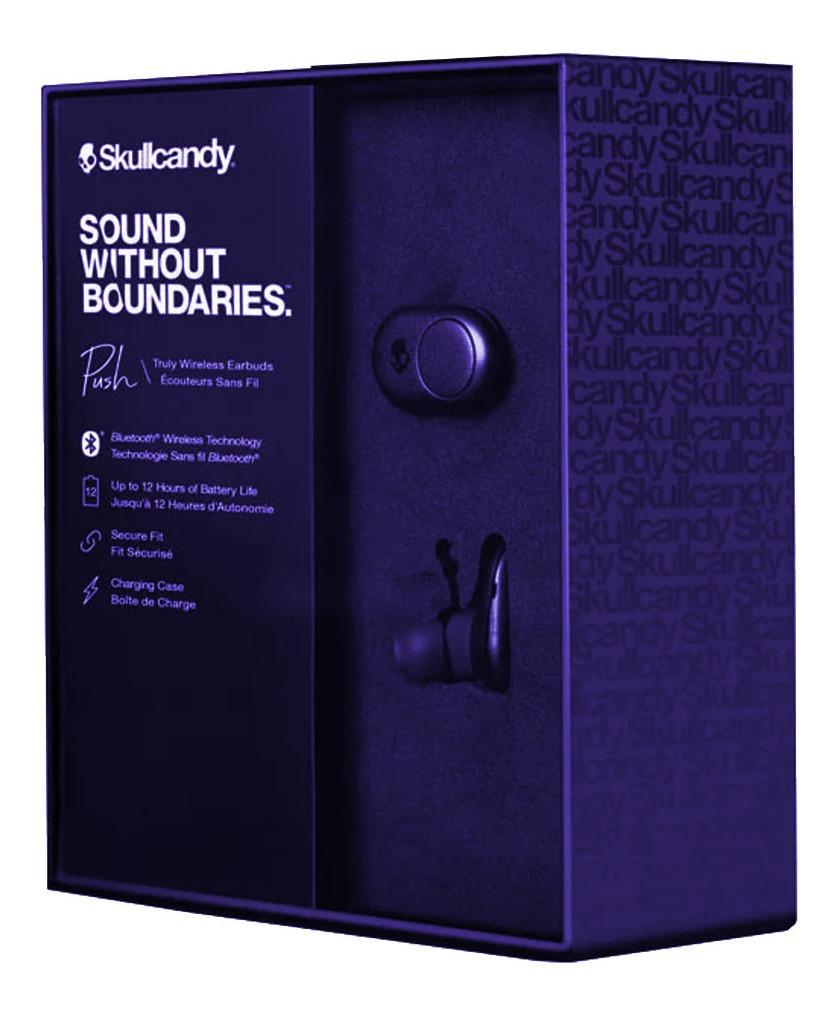 Tai nghe True Wireless Bluetooth Skullcandy Push - Xanh Đậm - Hàng Chính Hãng
