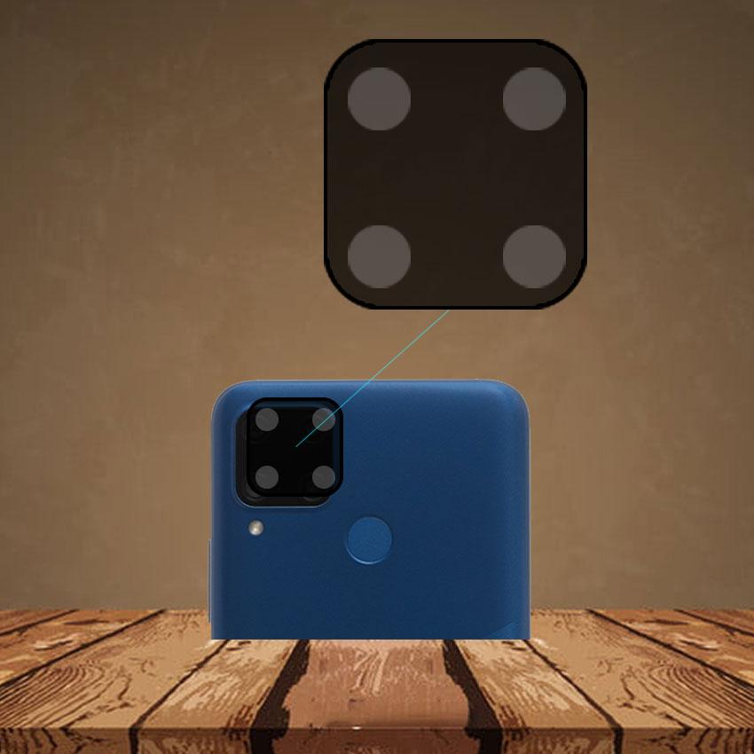 Miếng dán cường lực Camera cho Realme C15 trong suốt