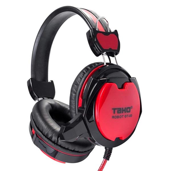 Tai nghe gaming GT-03 (đỏ,xanh lá) - Hàng Nhập Khẩu