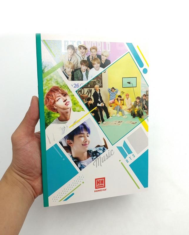 Vở South Star Kpop 4 Ôly Vuông (96 Trang) - 0752 - Mẫu 8 - BTS