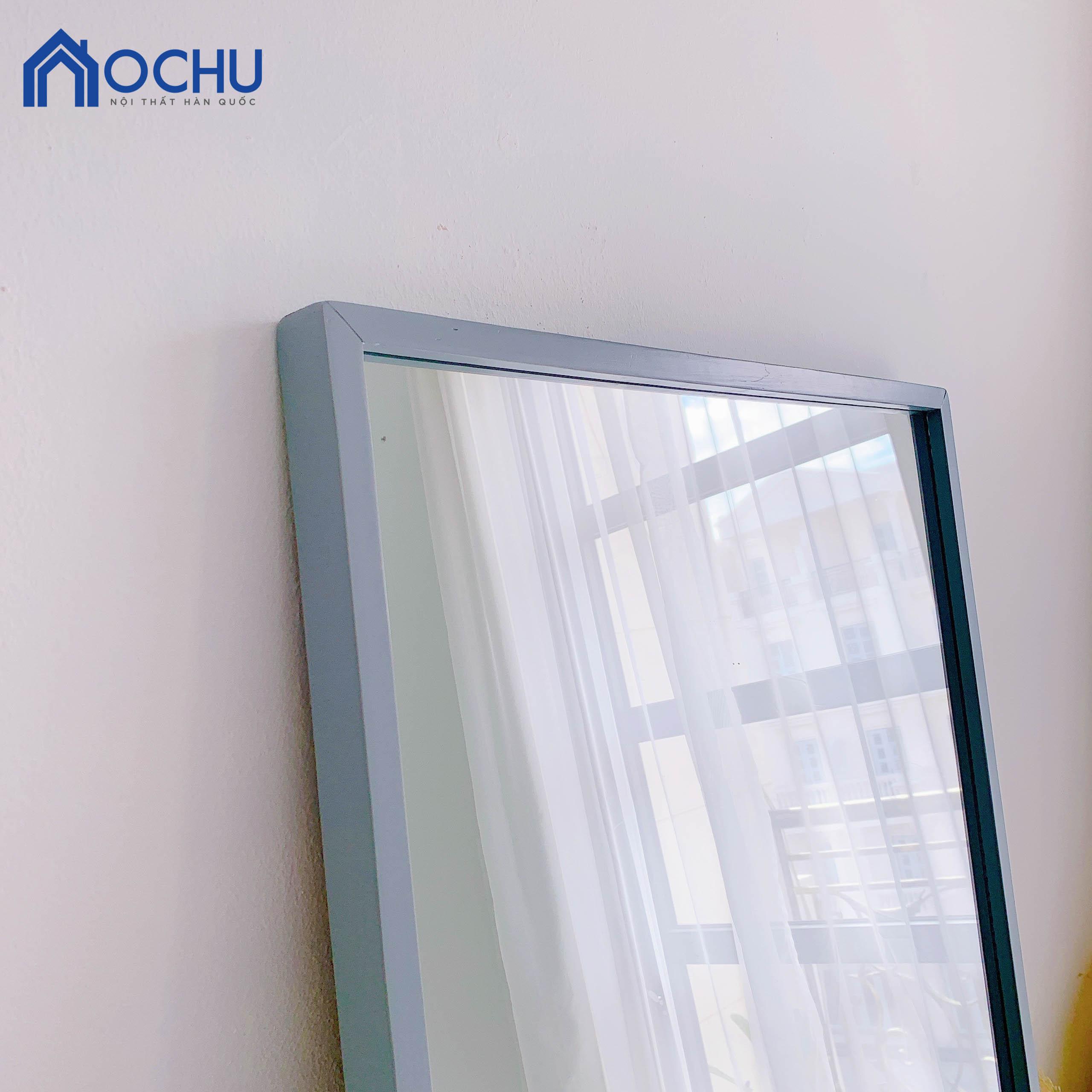 Gương Đứng Soi Toàn Thân Khung Gỗ OCHU - Mirror L - Grey