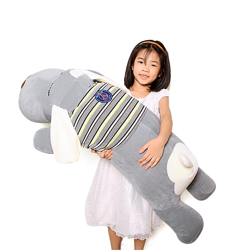Gấu bông chó dài mặc áo đáng yêu size 1m2