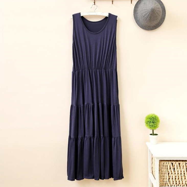 Đầm bầu nữ, đầm kiểu dáng dài rộng AH16