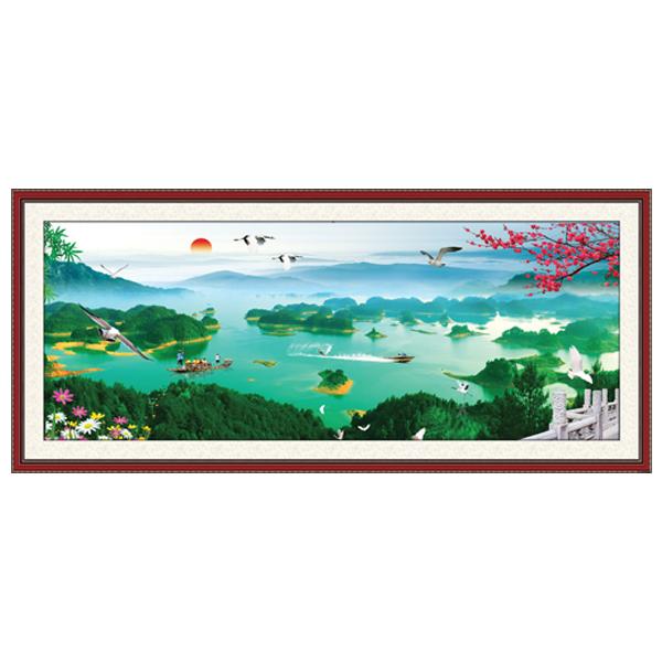 Tranh Treo Phong Thủy Q12K-ZTH(88)