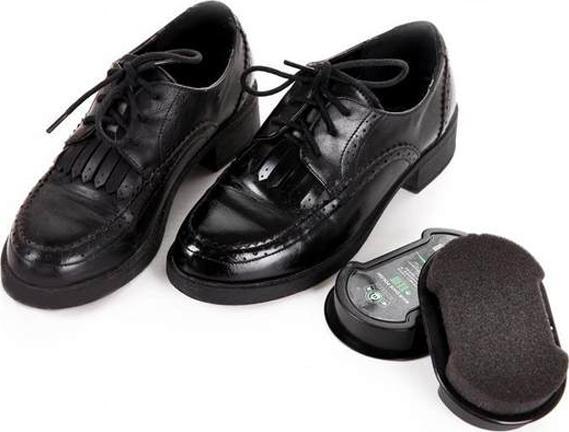 Combo 2 bộ miếng lau giày siêu sạch SHOE SHINE (Màu Đen)